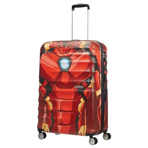American tourister Walizka duża wavebreaker marvel - iron man close-up