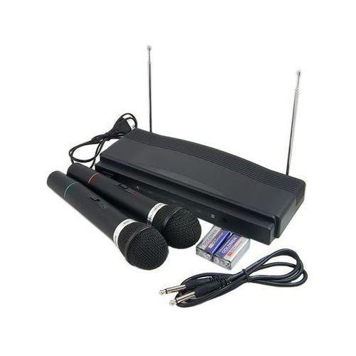 Zestaw karoke stacja + 2 mikrofony