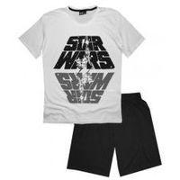Męska piżama Star Wars Biała XXL, kolor biały