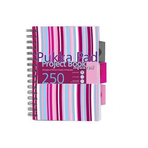 Kołozeszyt Pukka-Pad Project Book Squared PROBSQ A5/250k. kratka (5032608013835)