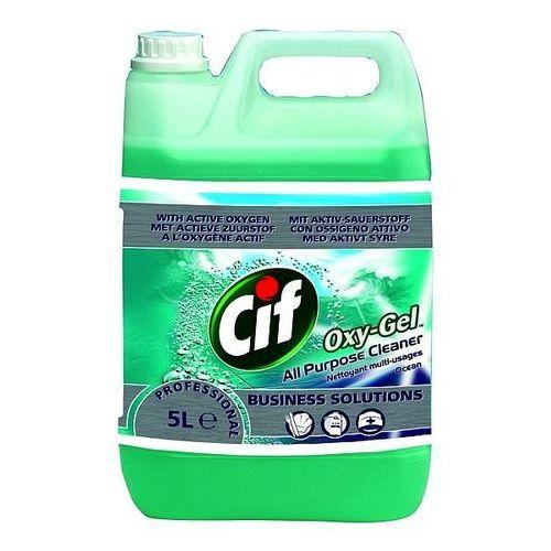 Płyn do podłóg professional oxy-gel ocean 5l marki Cif