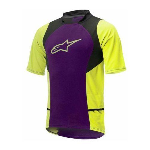 Koszulka Alpinestars DROP 2 purple-acid yellow 1766315-386