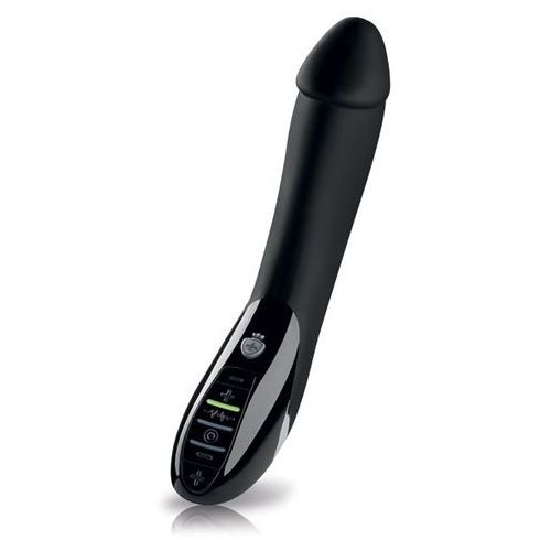 Wibrator z mocną elektrostymulacją -  tickling truman estim vibrator black marki Mystim