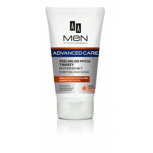 Aa cosmetics Aa men adventure care peeling do mycia twarzy 150ml - oceanic (5900116025308)