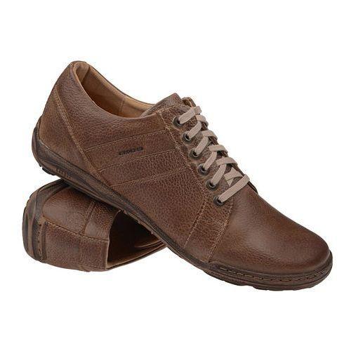 Półbuty buty 1-4237-330 brązowe - beżowy ||brązowy marki Kacper