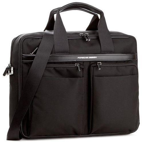 Torba na laptopa PORSCHE DESIGN - Lane 4090002571 Black 900, kolor czarny