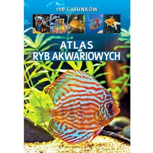 Atlas ryb akwariowych - Maja Prusińska, oprawa twarda