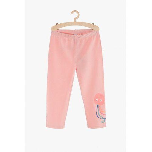 Leginsy dziewczęce różowe 3M3820