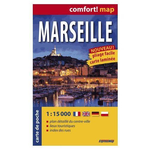 Marsylia ExpressMap Marseille Plan Miasta 1:15 000 comfort! map (2014)