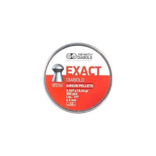 Jsb / czechy Śrut 4,52 mm jsb exact 500 szt. + darmowy zwrot (ex452) (5907461634155)