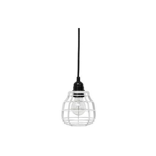 HK Living:: Lampa LAB Biała z Włącznikiem - biały