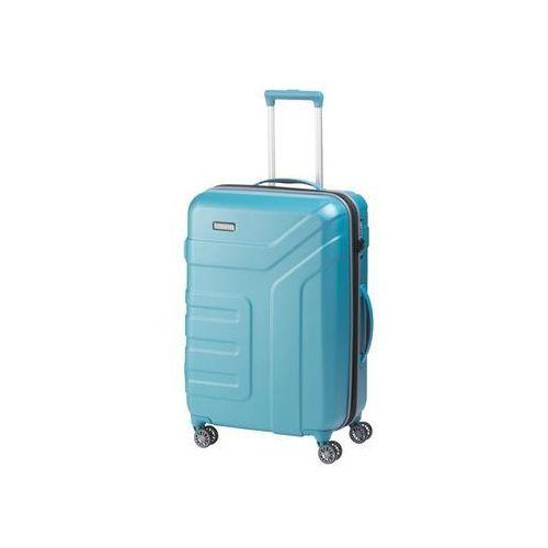 Travelite vector walizka średnia 79/91l türkis 4-koła