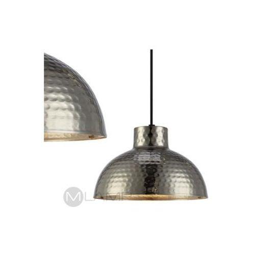 LAMPA wisząca HAMMER 106110 Markslojd metalowa OPRAWA orientalna ZWIS kopuła srebrna, 106110