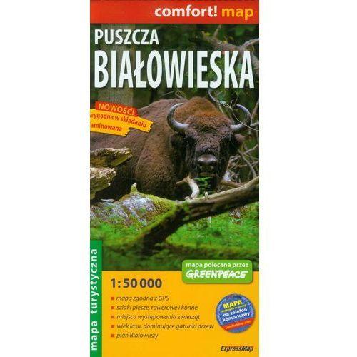 Mapa Laminowana ExpressMap Puszcza Białowieska 1:50 000 comfort! map, ExpressMap - OKAZJE