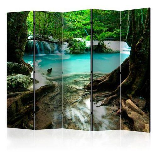 Artgeist Parawan 5-częściowy - krystalicznie czysta woda ii [room dividers]