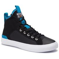 Sneakersy CONVERSE - Ctas Ultra Mid 165340C Black/Imperial Blue/White, kolor czarny