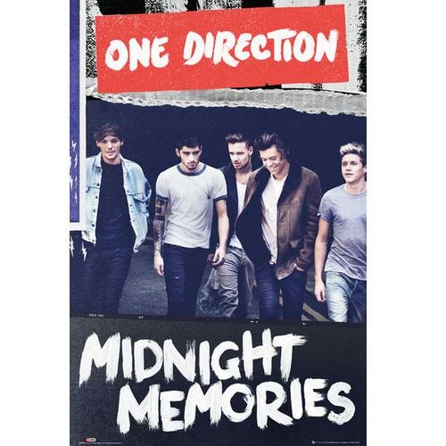 Galeria One direction midnight memories - plakat