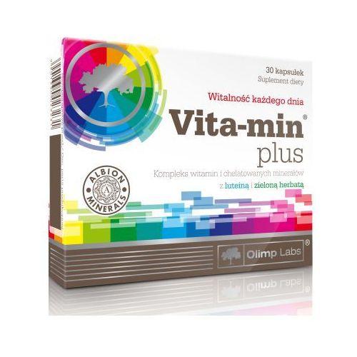 Olimp Vita-min plus z luteiną i zieloną herbatą 30 kaps., OLIMP