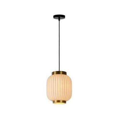Lucide Ovalis 13435/01/31 lampa wisząca zwis 1x230W E14 biała (5411212134141)