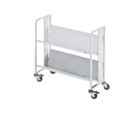 Wózek na napoje,2 piętra, nośność na piętro 40 kg marki Quipo