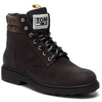 Trapery - casual suede boot em0em00315 magnet 008, Tommy jeans, 40-46