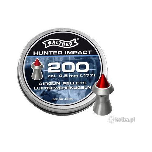 Walther Śrut diabolo  hunter impact 4,5 mm 200 szt.