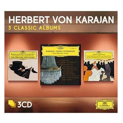 3 classic albums:opera intermezzi, offenbach, von suppe - herbert von karajan (płyta cd) marki Universal music / deutsche grammophon
