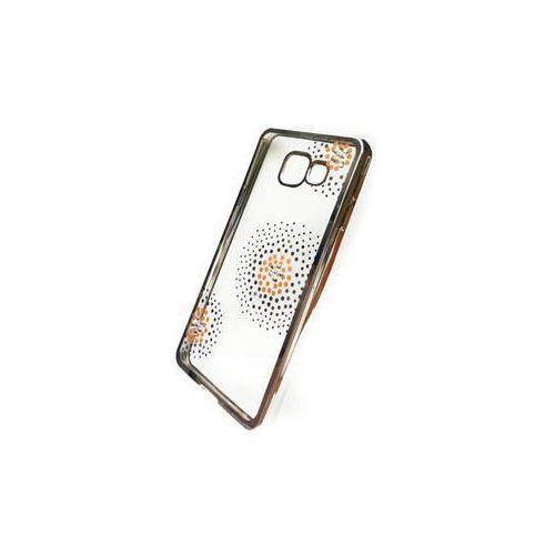 Obudowa dla telefonów komórkowych Beeyo Flower Dots pro Samsung Galaxy A3 (2016) (BEASAGAA32016TPUFLSI) Srebrny, kolor szary