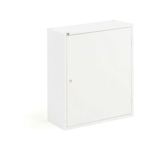 Szafka warsztatowa SERVE, bez pojemników, 800x600x275 mm, biały