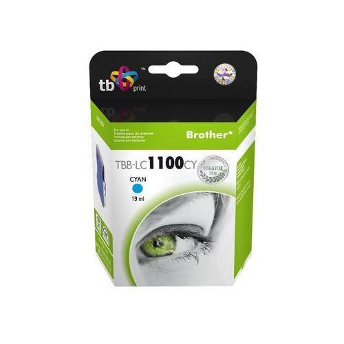 Tb print tbb-lc1100cy (zamiennik lc-1100c, lc-980c) - produkt w magazynie - szybka wysyłka! (5901500500357)