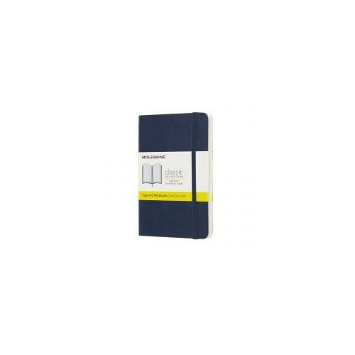 Notatnik Moleskine Classic P kratka, miękka oprawa, szafirowy, MOQP612B20