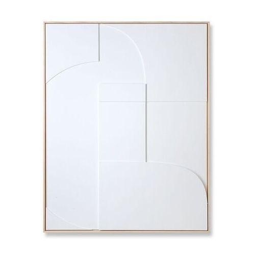 obraz relief a biały (97x120) awd8919 marki Hkliving