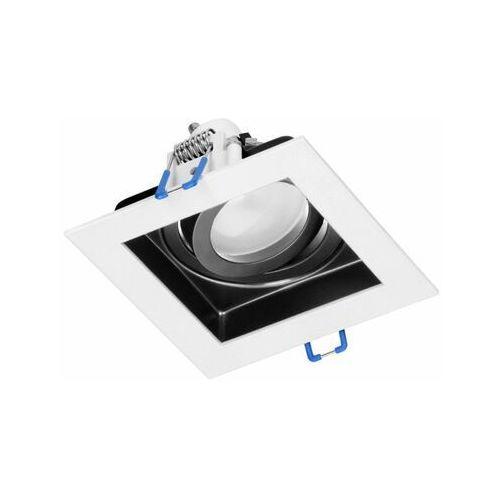 YOP ramka dekoracyjna oprawy punktowej, MR16/GU10 max 50W, regulowana biała+czarna OR-OD-6166/W-B