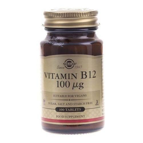 Tabletki Solgar Witamina B12 100 μg - 100 tabletek