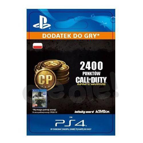 Sony Call of duty: infinite warfare - 2400 punktów [kod aktywacyjny]
