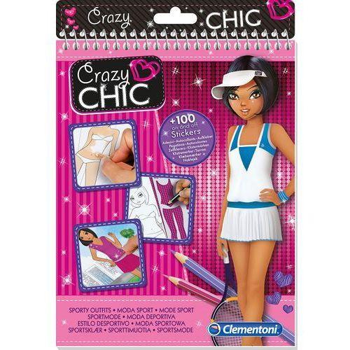 Clementoni, Crazy Chic, Moda Sport, zestaw kreatywny z kategorii Zabawki kreatywne