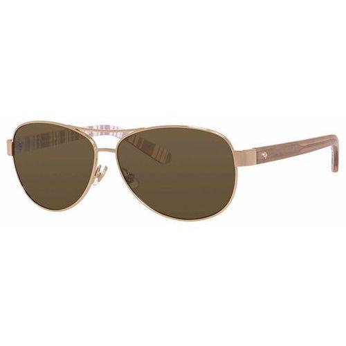Okulary słoneczne dalia 2/p/s polarized 0rne vw marki Kate spade