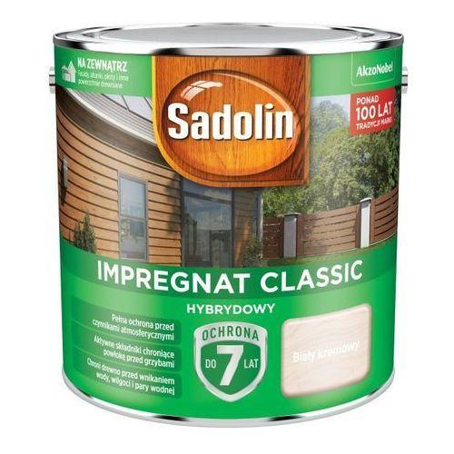 Sadolin Impregnat do drewna hybrydowy biały kremowy 2,5 l
