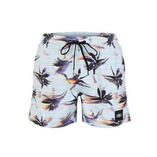 O'neill szorty kąpielowe do kolan 'pm summer-floral shorts' jasnoniebieski