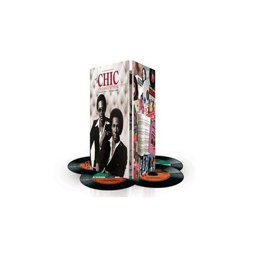 Warner music poland The chic organization - nile rodgers presents: the chic - album 4 płytowy (cd)