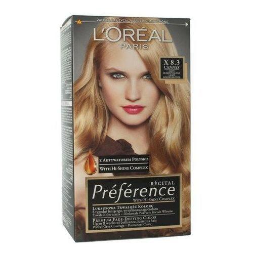L'oreal paris Loreal recital preference farba do włosów x cannes 8.3