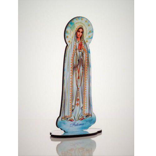 Drewniana figurka Matki Boskiej Fatimskiej, KU1201