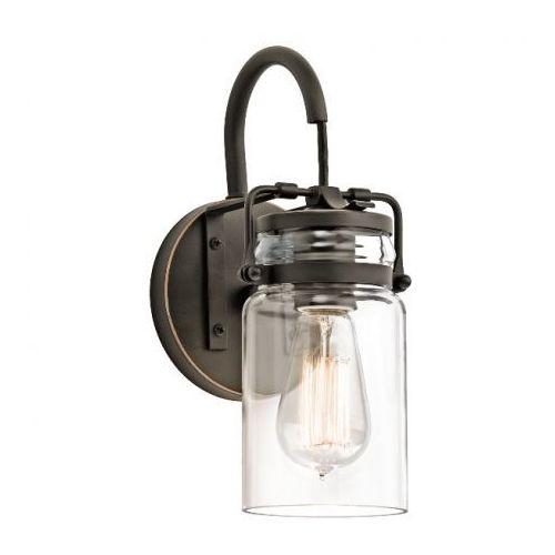 Elstead Kl/brinley1 brinley loft lampa kinkiet  kichler