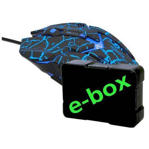 E-blue Mysz auroza gaming (ems639bkca-iu) darmowy odbiór w 20 miastach! (6921607106220)