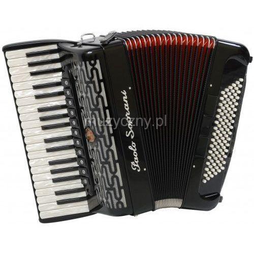 Paolo Soprani Professionale 37/96-F 37/4/11 96/5/5 Piccolo akordeon (czarny)