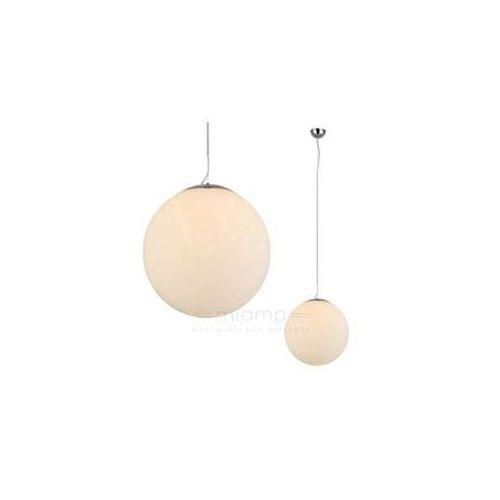 Lampa wisząca white ball 20 flwb20wh  szklana oprawa zwis kula ball biała od producenta Azzardo