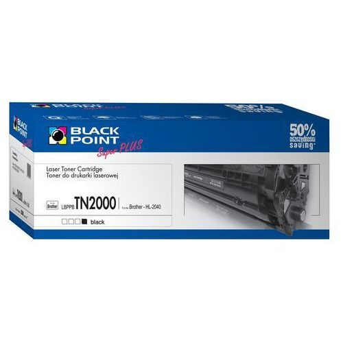 Toner BLACK POINT LBPPBTN2000 Zamiennik Brother TN-2000 (5907625611527)