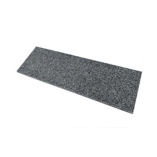 Knap Parapet granitowy 122 x 30 x 2 cm dark