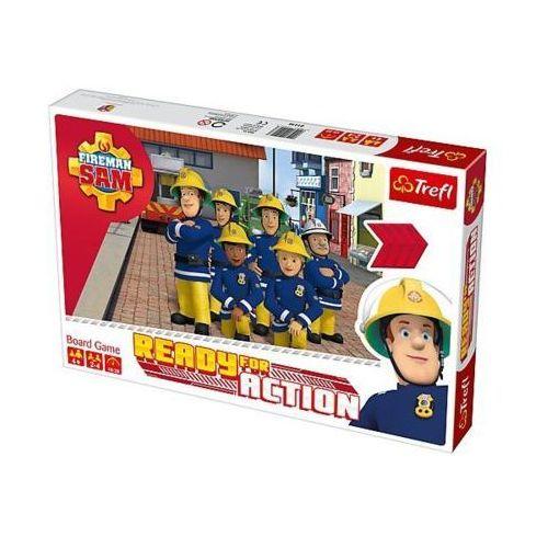 Gra strażak sam, ready for action +darmowa dostawa przy płatności kup z twisto marki Trefl