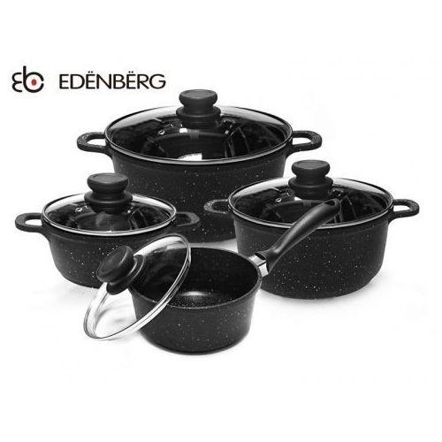 GARNKI GRANITOWE EDENBERG BLACK 8 ELE [EB-9180], EB-9180